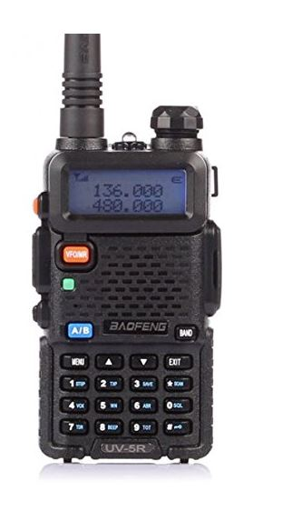 BaoFeng UV-5R Long Range Radio For Hunting