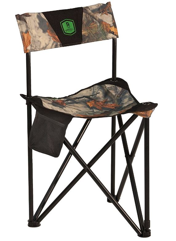 Barronett Blinds BC101 Tripod XL Folding Hunting Chair Bloodtrail Camo