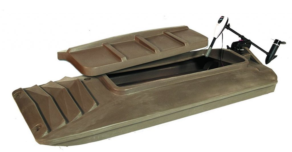 Beavertail Final Attack Portable Pit Blind Marsh Brown