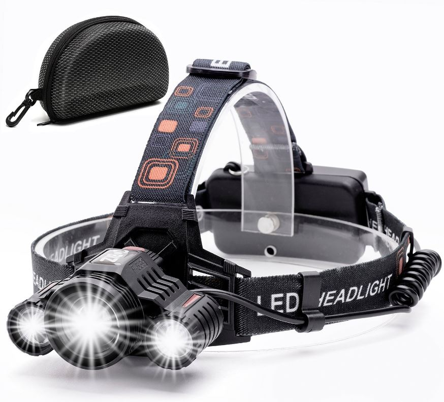 Cobiz 4 Modes Waterproof Headlight