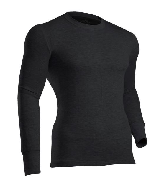 ColdPruf Men's Platinum II Performance Base Layer Long Sleeve Crew