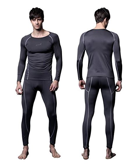 ITEXTREME Fleece Hunting Base Layer Compression Thermals