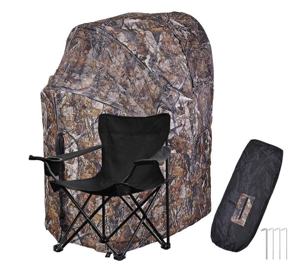 Fold-able Deer Hunting Blind Chair