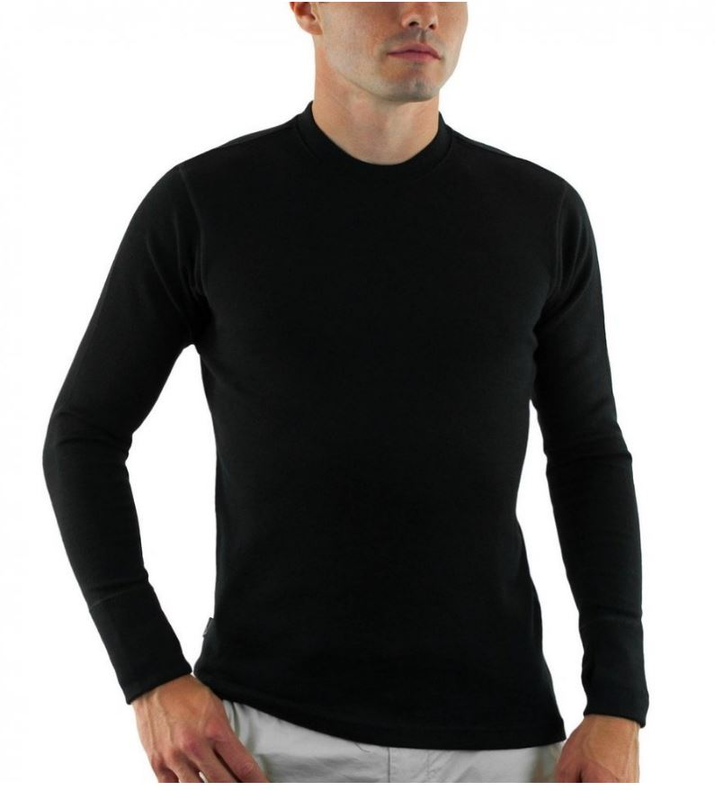 Men's Merino Wool Base Layer Top
