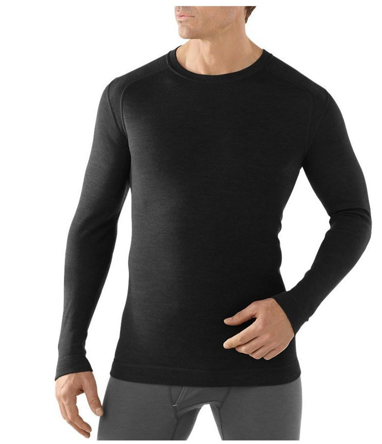 Smartwool Men's Base Layer For Cold Weather Hunting NTS Mid 250 Crew