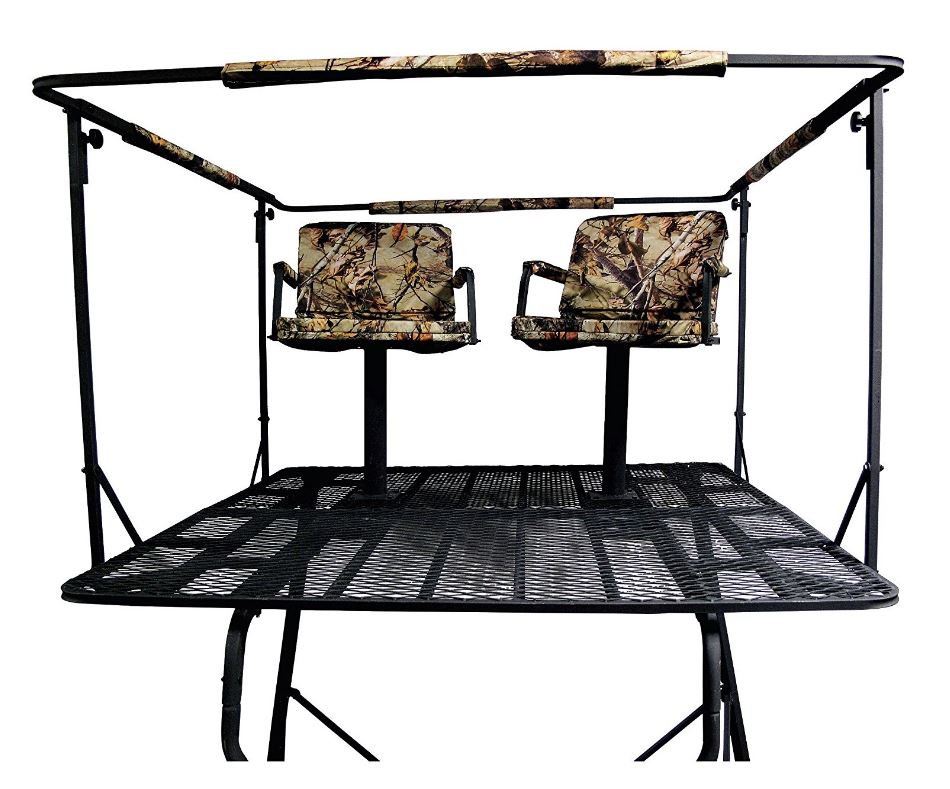 Guide Gear 2-Man 12 Tower Bow Tree Stand
