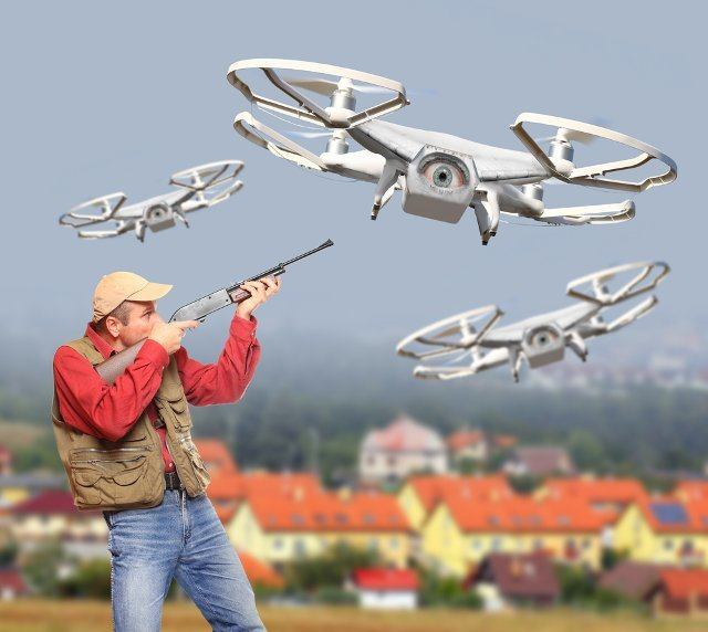 Drones For Hunting